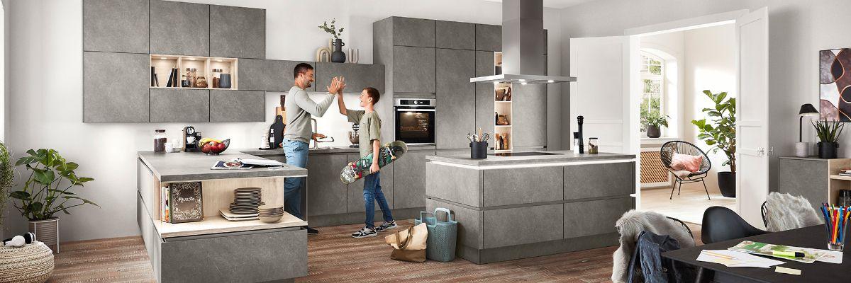 nobilia Küchen - Ihr Küchenfachhändler aus Broderstorf bei Rostock ...